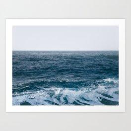 Wave Curl - Ocean Photography Art Print