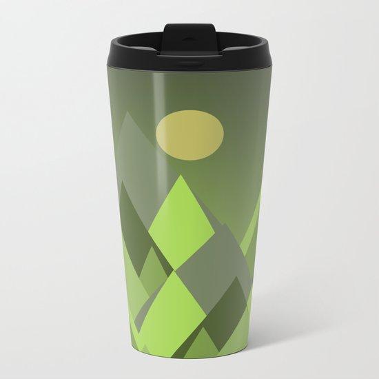 Landscape NC 07 Greenery Metal Travel Mug