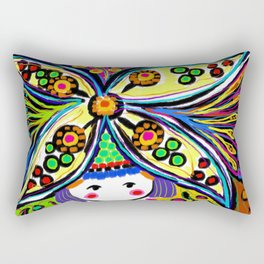 Earth Girl Rectangular Pillow