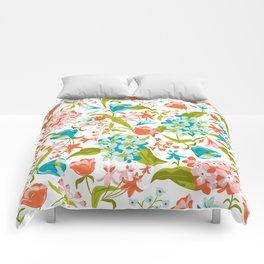 Amilee White Comforters
