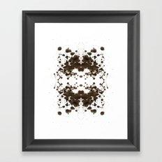 Symmetria Silver Framed Art Print