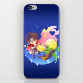 teddy billy - love stars iPhone Skin