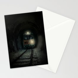 Mysterious trip Stationery Cards