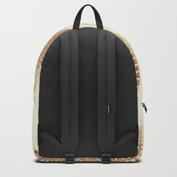 Found Feathers Backpack