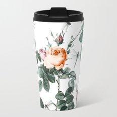 Floral and Winged Darter Travel Mug