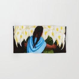 Flower Seller 1942 by Diego Rivera Hand & Bath Towel