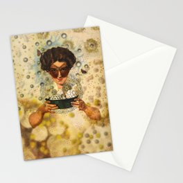 Steam bubbles Stationery Cards