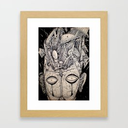 The Loss And Curse Of Reverence Framed Art Print