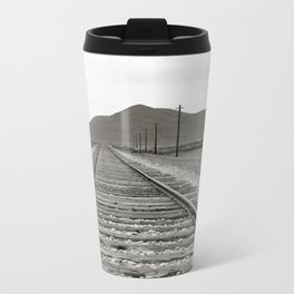 Tracks Metal Travel Mug