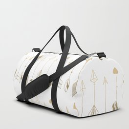 Be Brave Little Arrow (gold) Duffle Bag