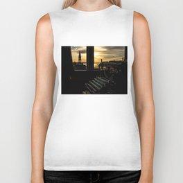 The Sunrise, Steeple & Typewriter Biker Tank