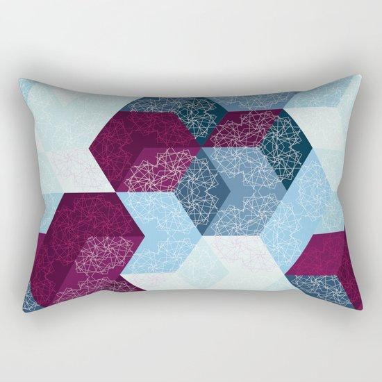 Caleidoscube Rectangular Pillow