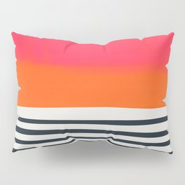 Sunset Ripples Pillow Sham