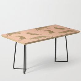sunset leopards Coffee Table