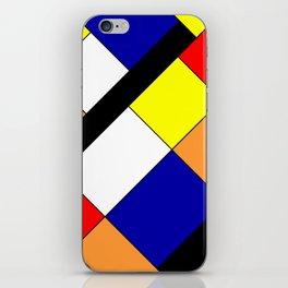 Mondrian #18 iPhone Skin
