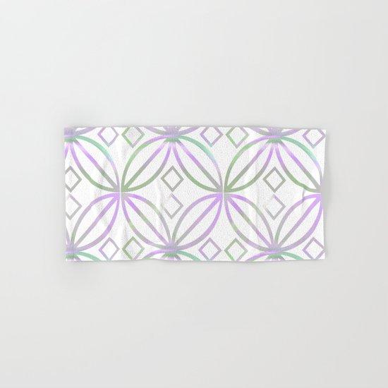 Floral Pattern - JUSTART © Hand & Bath Towel
