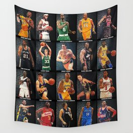 Basketball Legends Wall Tapestry