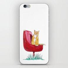 Rusty Cat iPhone & iPod Skin