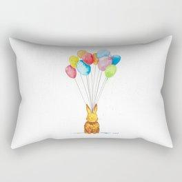 Happy Bunny Rectangular Pillow