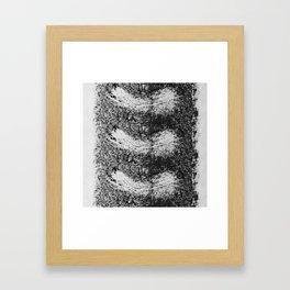 Feather Fall Printwork Framed Art Print