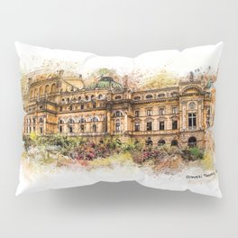 Slowacki Theatre, Cracow Pillow Sham