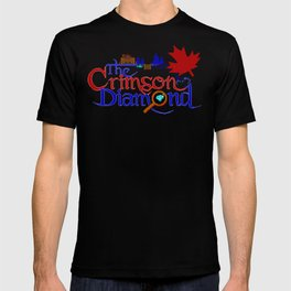 The Crimson Diamond colour logo T-shirt