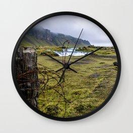 Barbed Wall Clock