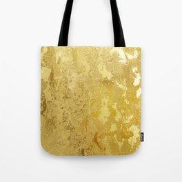golden vintage Tote Bag
