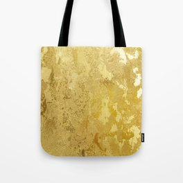 golden vintage Tote Bag