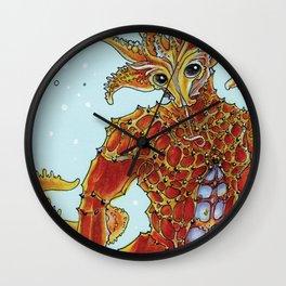 Seahorse Merman Wall Clock