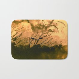 Burn Out - Canvas paint Bath Mat