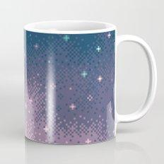 Lilac Nebula (8bit) Mug