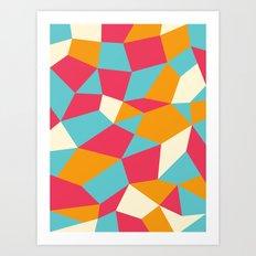 Boulderoid Series: Sunnyside Art Print