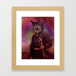 General Jackson (cat) Framed Art Print