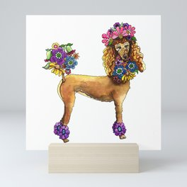 Poodle Dee Doo Mini Art Print