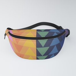 Day and Night Rainbow Triangles Fanny Pack