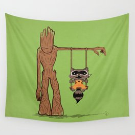 Come Swing With Me Wall Tapestry