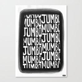 Mumbo Jumbo Canvas Print