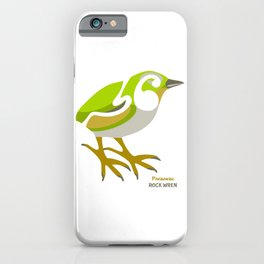Rock Wren New Zealand Bird iPhone Case
