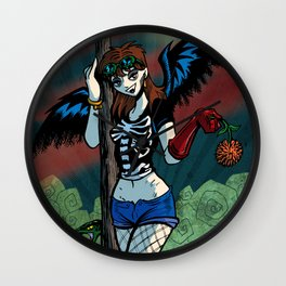 ♬♫♬ I see a bad moon a-rising... ♬♫♬ Wall Clock