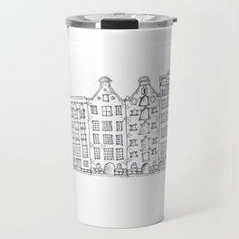 Amsterdam Streetscape Travel Mug
