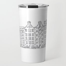 Amsterdam Streetscape Travel Mug