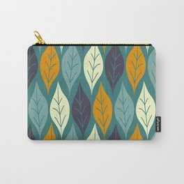 Autumn Leaves, Cozy Fall Pttern Carry-All Pouch
