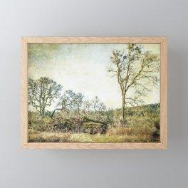 Losing a Part of Oneself Framed Mini Art Print