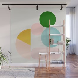 Abstraction_Minimal_Shapes_001 Wall Mural