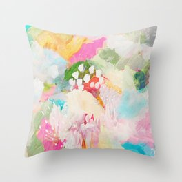 fantasia: abstract painting Throw Pillow
