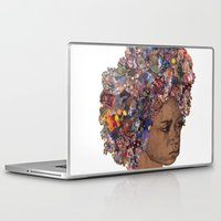afro Laptop & iPad Skins featuring Afro by Chris McArdle