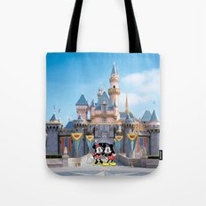 Mickey and Minnie Tote Bag