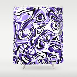 ill-defined Shower Curtain
