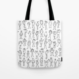 Nu Dude Ies A Spectrum Of Fun And People Tote Bag
